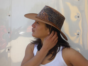 Australian Style Beach | Summer Hat Leopard with Airy Hat Block - OUT OF AUSTRALIA | Kakadu Traders Australia