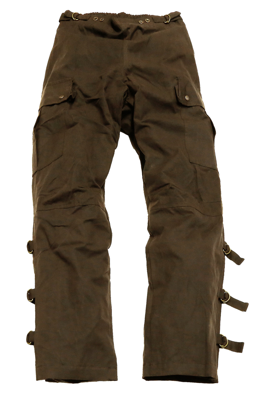 Weatherproof cover outdoor | Biker | Rider pants Walk-a-bout Pants- in brown - OUT OF AUSTRALIA | Kakadu Traders Australia