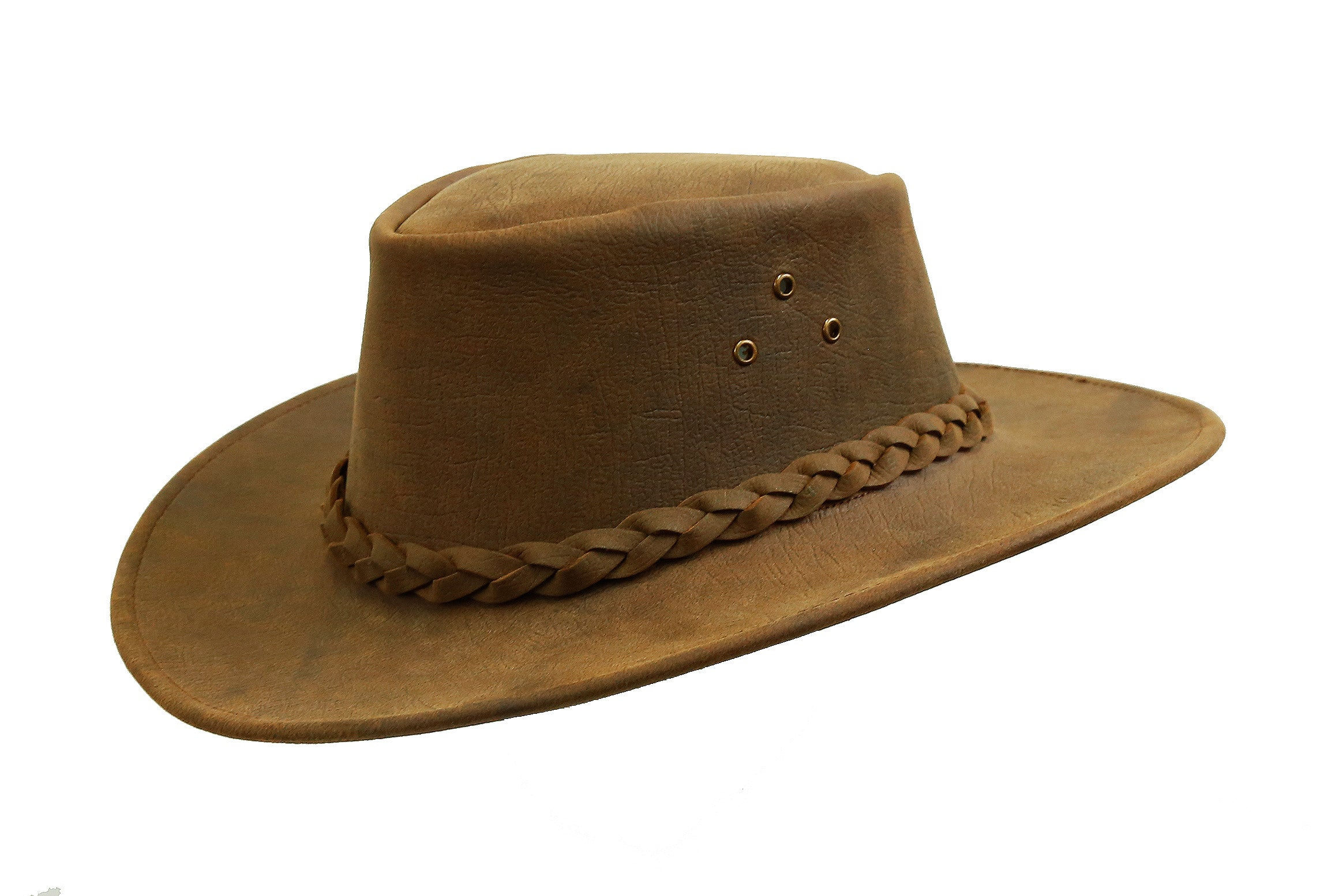 Australian Style Outdoor | Leather hat Bulldog made of strong leather | Weatherproof - OUT OF AUSTRALIA | Kakadu Traders Australia