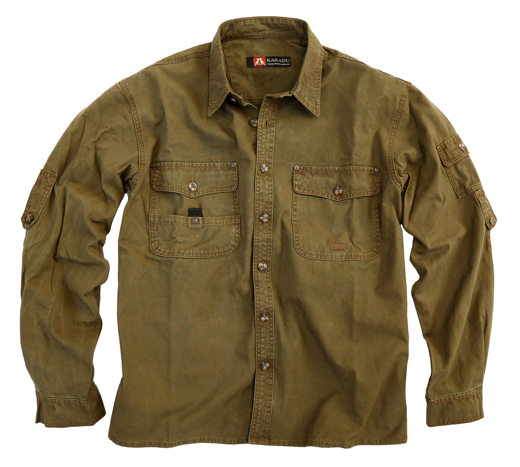 Leisure time Outdoor | Men's shirt Toorak - OUT OF AUSTRALIA | Kakadu Traders Australia