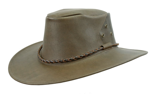 Australian Outdoor | Travel hat Narrabeen made of kangaroo leather Suitcase suitable | 2.Select - OUT OF AUSTRALIA | Kakadu Traders Australia