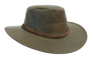 Australian Traveler Hat in Kangaroo Leather | Darwin - Travel | Suitcase hat | 2.Select - OUT OF AUSTRALIA | Kakadu Traders Australia