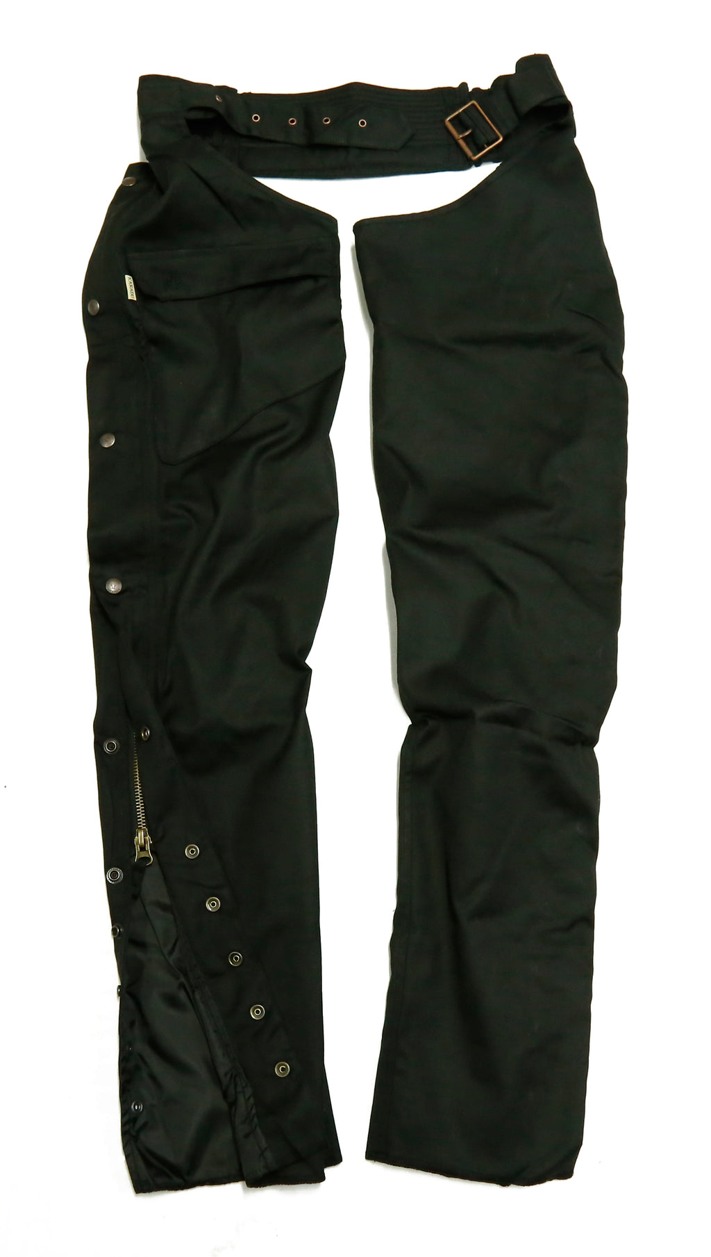 Biker rider | Cover chaps fan water-repellent and robust in black - OUT OF AUSTRALIA | Kakadu Traders Australia