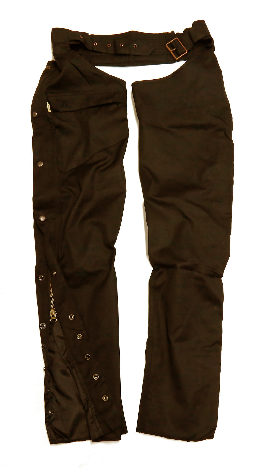 Biker | Tab | Cover chaps fan water-repellent and robust in brown - OUT OF AUSTRALIA | Kakadu Traders Australia