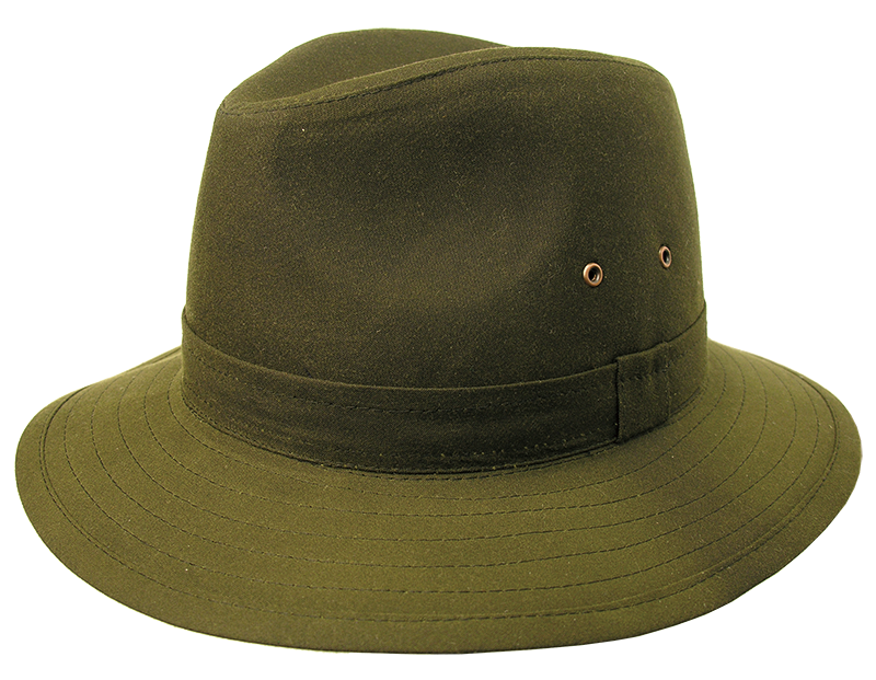 Dimensionally stable wax hat | Fishing hat Griffin made of oiled cotton | Rainfest - OUT OF AUSTRALIA | Kakadu Traders Australia