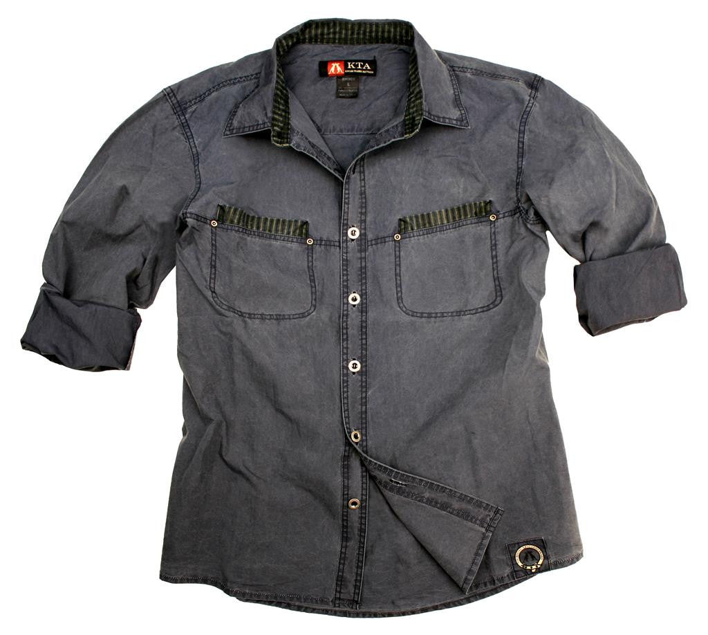 Safari | Outdoor | Western ladies blouse shirt Cooper with contrasting decoration - OUT OF AUSTRALIA | Kakadu Traders Australia