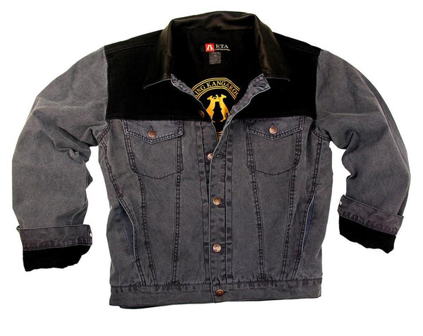 Leisure | Outdoor | Denim jacket Amko with contrasting breast section - OUT OF AUSTRALIA | Kakadu Traders Australia