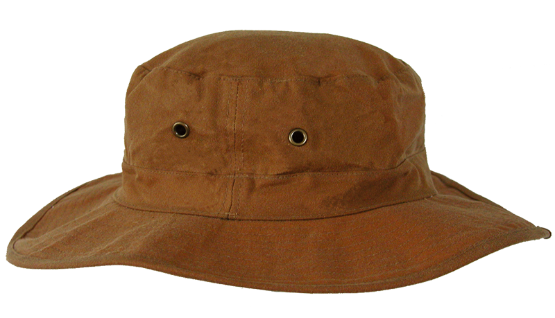 Angler | Outdoor Hat Crushable Packer in oiled cotton, waterproof - OUT OF AUSTRALIA | Kakadu Traders Australia