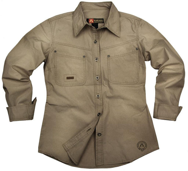 Safari | Western | Outdoor women's blouse shirt Clovelly - OUT OF AUSTRALIA | Kakadu Traders Australia