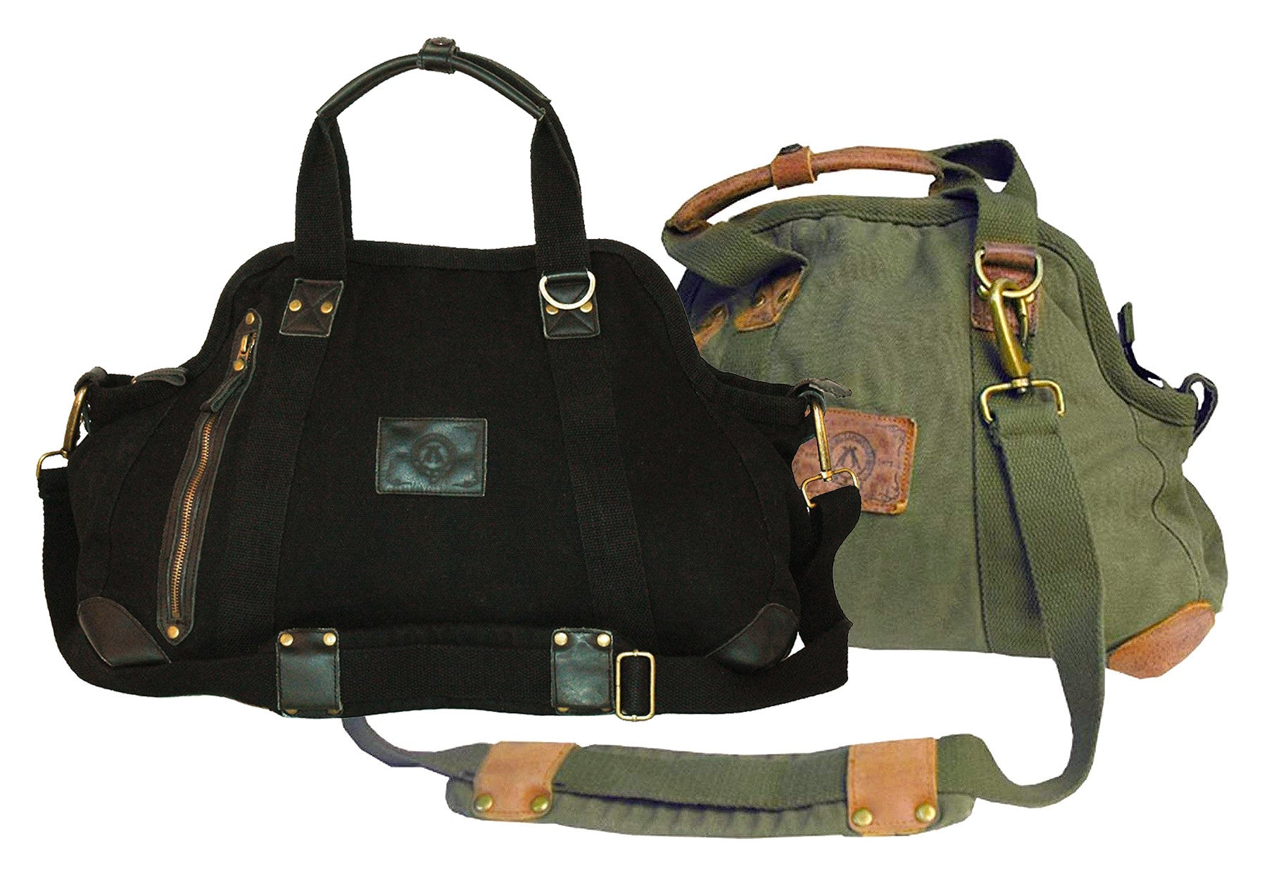 Capes | Small Doctors Canvas shoulder bag with removable shoulder strap - OUT OF AUSTRALIA | Kakadu Traders Australia