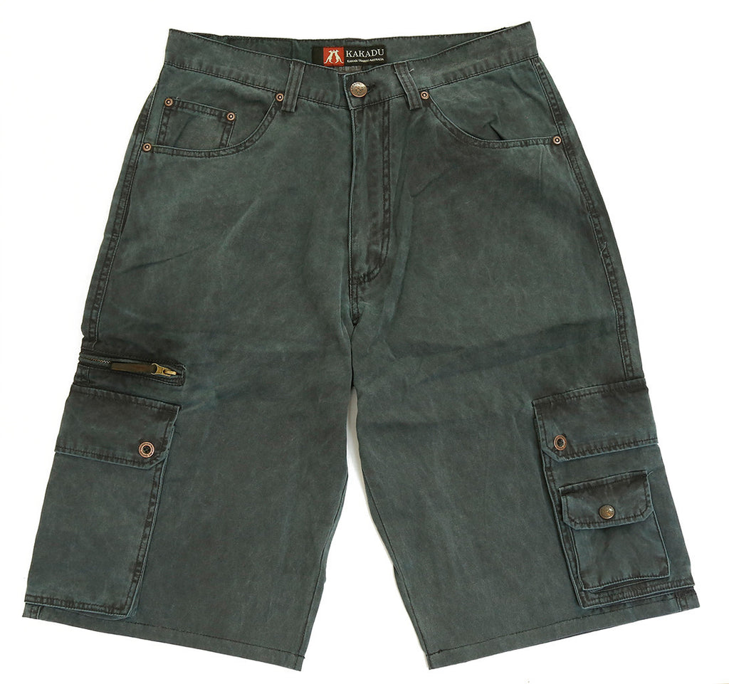 Outdoor | Leisure time Cargo shorts- robust shorts with many pockets - OUT OF AUSTRALIA | Kakadu Traders Australia