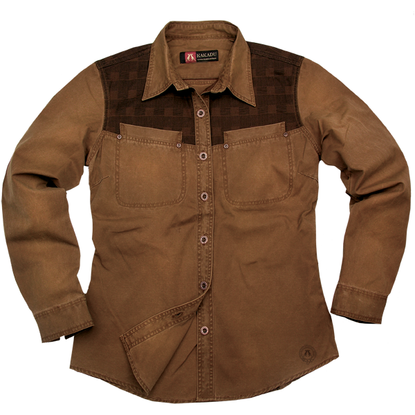 Outdoor | Western ladies blouse Hawthorne | contrasting chest - OUT OF AUSTRALIA | Kakadu Traders Australia