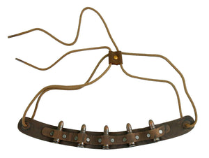 Cowboy | Westernstyle Reversible Hatband for Leather Hats | Bullet - OUT OF AUSTRALIA | Kakadu Traders Australia