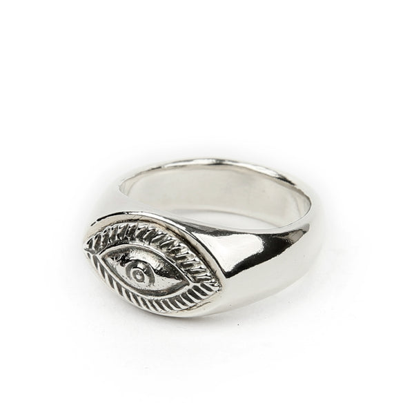 Eye Signet Ring