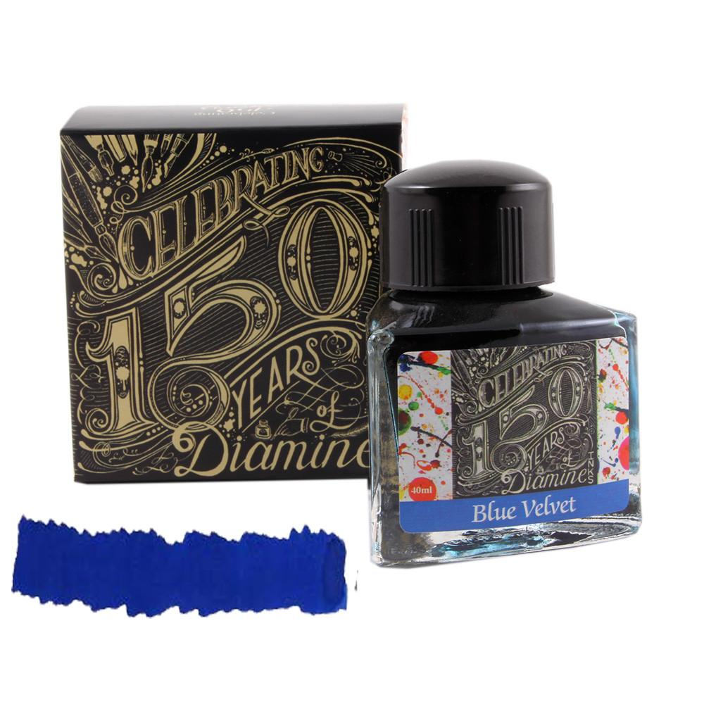 Diamine Ink 150.yıl Blue Velvet