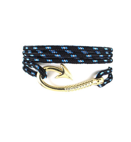 Hoop Anchor Bracelet Multilayer