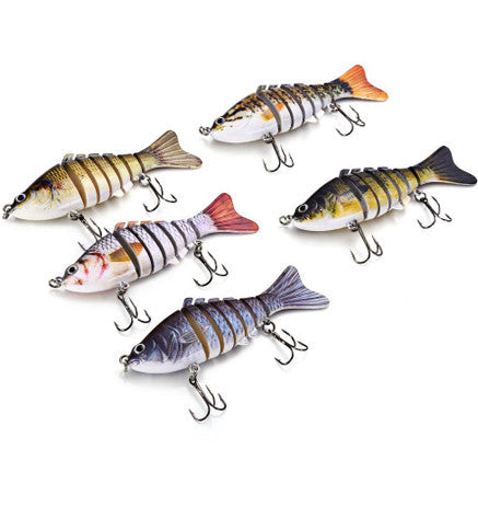 7 Segments Fishing Lure Body