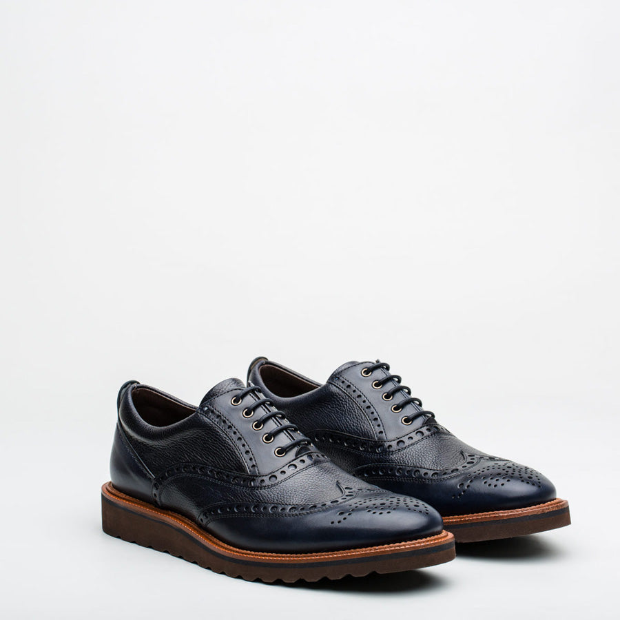 Nickolson - Evans - Smart Leather Brogues - 3