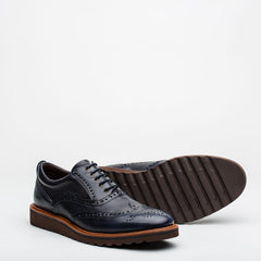 Nickolson - Evans - Smart Leather Brogues - 4