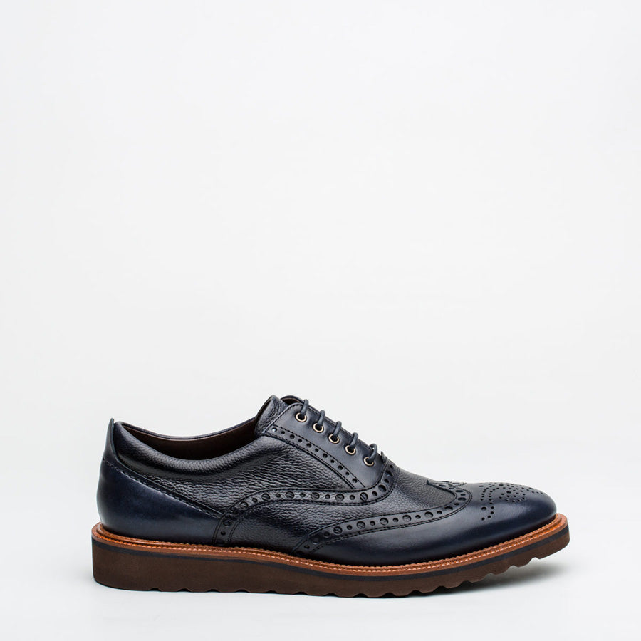 Nickolson - Evans - Smart Leather Brogues - 2