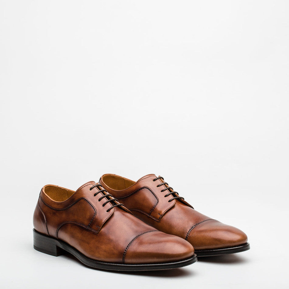 Nickolson - Newman - Tan Leather Shoes - 3