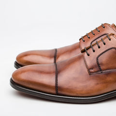 Nickolson - Newman - Tan Leather Shoes
