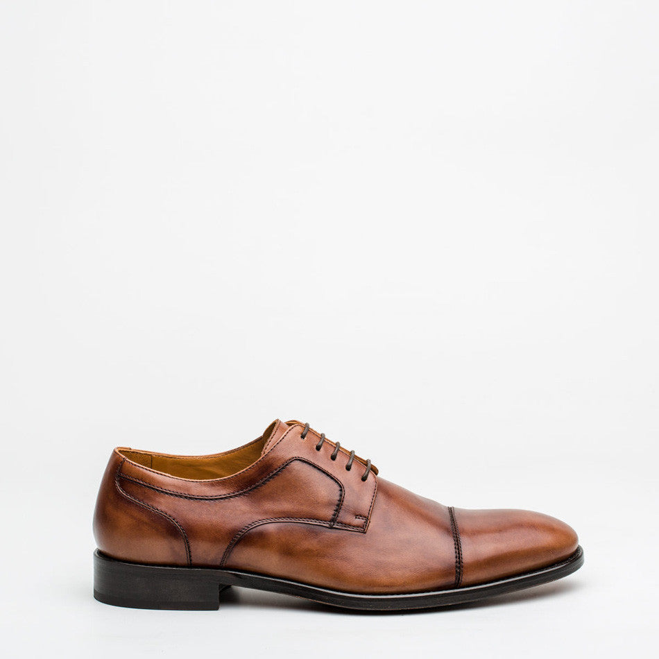 Nickolson - Newman - Tan Leather Shoes - 2