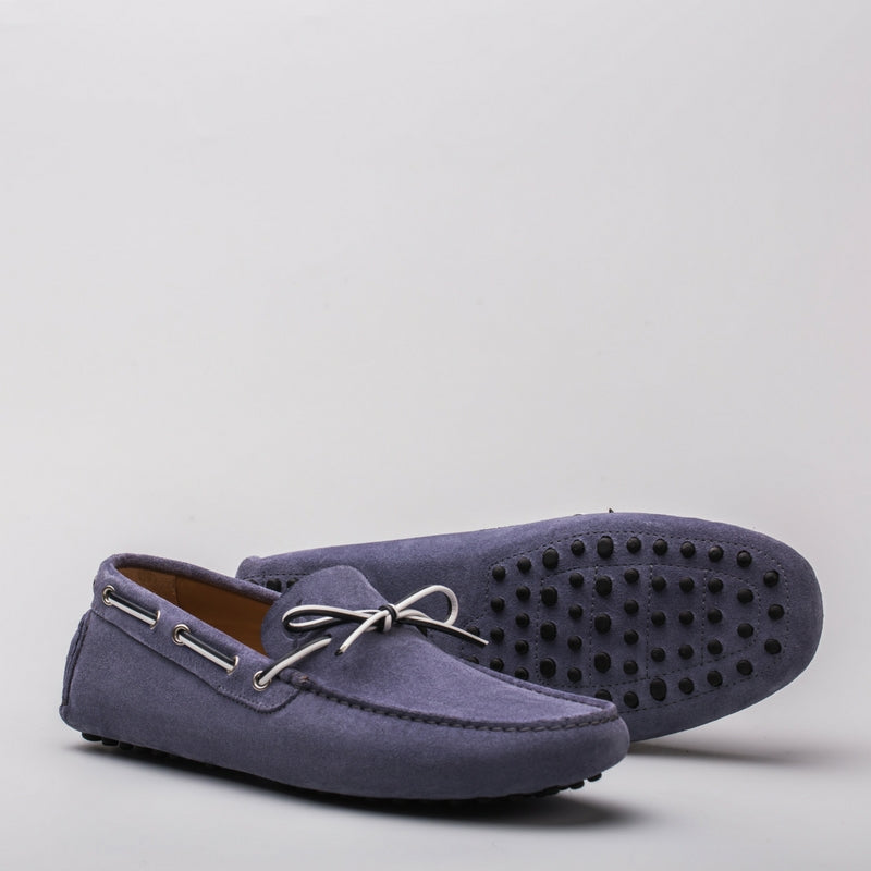 Luca suede jeans - Lonebo