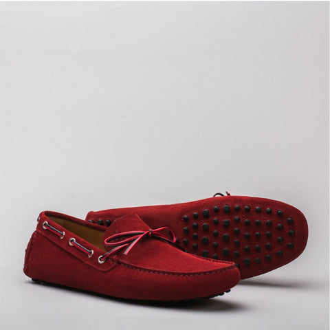 Luca suede red - Lonebo