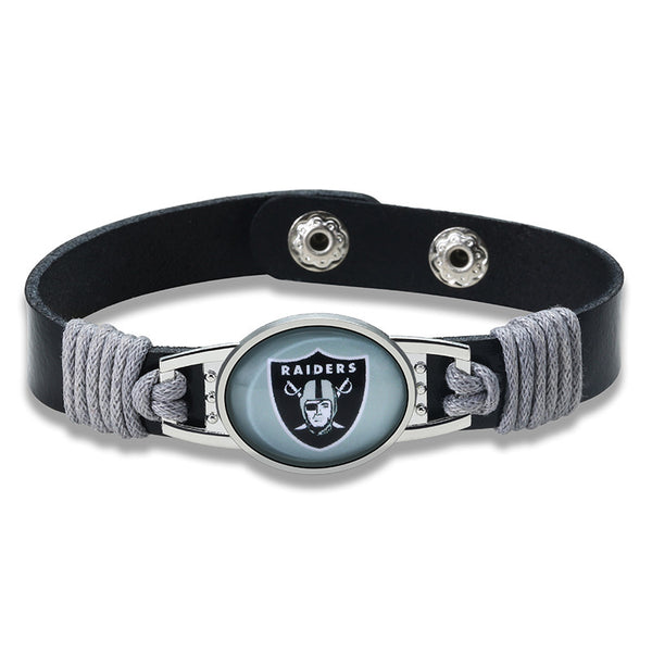 True Oakland Fan Adjustable Leather Bracelet (50% Off + FREE Shipping) - FanFaire
