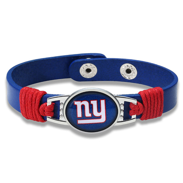 True New York Fan Adjustable Leather Bracelet (50% Off + FREE Shipping) - FanFaire