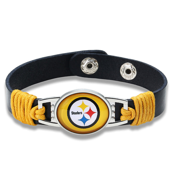 True Pittsburgh Fan Adjustable Leather Bracelet (50% Off + FREE Shipping) - FanFaire