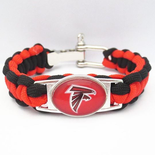 SALE! Atlanta Falcons Adjustable Fan Bracelet (50% Off + FREE Shipping!) - FanFaire