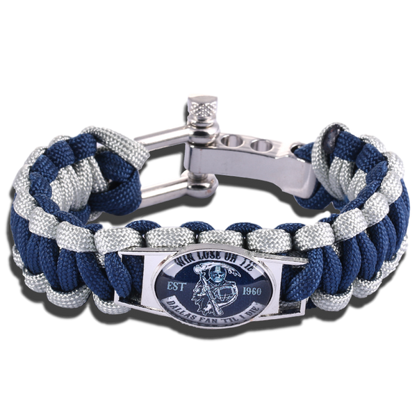 Dallas Fan Til I Die Adjustable Bracelet (50% Off + FREE Shipping) - FanFaire