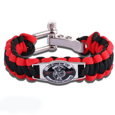 Atlanta Fan Til I Die Adjustable Bracelet (50% Off + FREE Shipping) - FanFaire