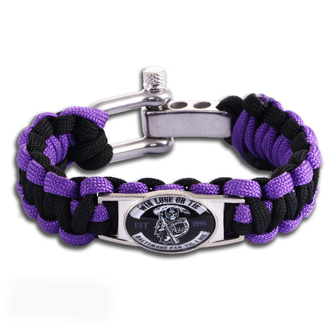 Baltimore Fan Til I Die Adjustable Bracelet (50% Off + FREE Shipping) - FanFaire