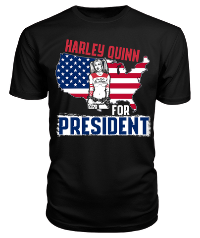 Harley Quinn for President Suicide Squad T Shirt Tank Top Hoodie - FanFaire