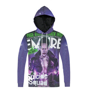 Joker Empire Mag Suicide Squad 3D Printed Hoodie - FanFaire