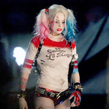 Harley Quinn Daddy's Lil Monster Short Sleeve T-Shirt - FanFaire