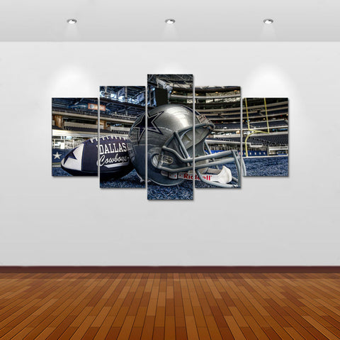How Bout Dem Cowboys 5 Panel Wall Art (50% Off + FREE Shipping) - FanFaire