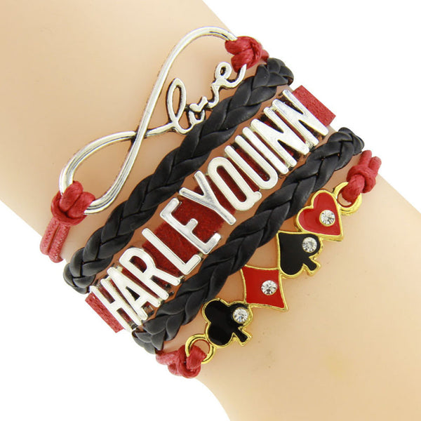 Love Harley Quinn Limited Edition Bracelet (FREE Just Cover Shipping & Handling) - FanFaire