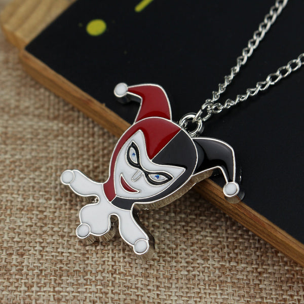 Classic Harley Quinn Necklace (Free Just Pay Shipping) - FanFaire