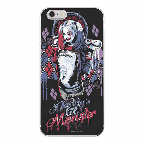 Harley Quinn Daddys Lil Monster DC Comics Cover Case For iPhone - FanFaire