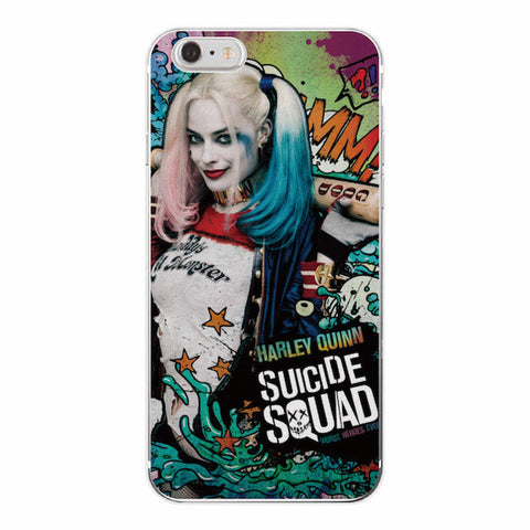 Harley Quinn Good Night Suicide Squad Cover Case For iPhone - FanFaire