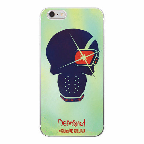 Deadshot Emoji Suicide Squad Cover Case For iPhone - FanFaire