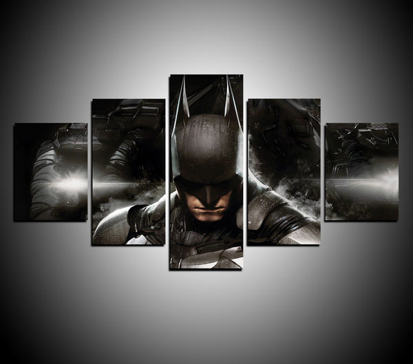 5 Panels Movie Hero Batman The Dark Knight Modern Home Wall Decor Canvas Picture Art HD Print Painting On Canvas For Living Room - FanFaire