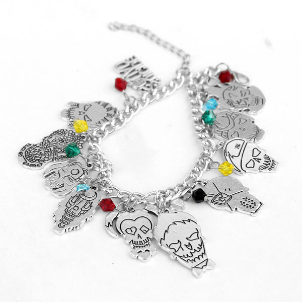 Suicide Squad Skull Emoji Bracelet (FREE! Buy 2 Or More And SAVE!) - FanFaire