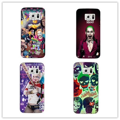 3D Suicide Squad Joker Harley Quinn DC Comics Phone Cases For Samsung - FanFaire