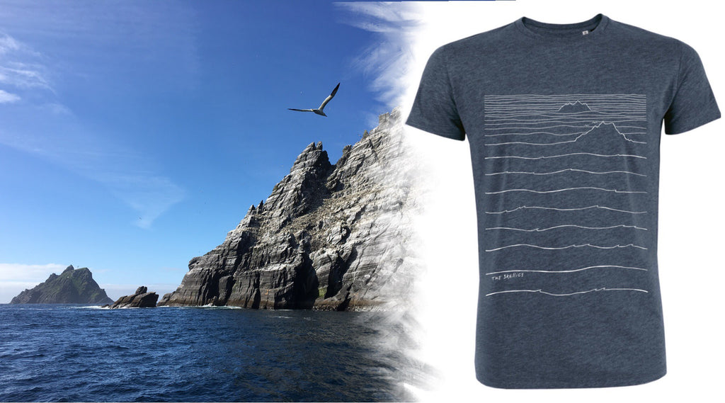 The Skellig Michael t shirt