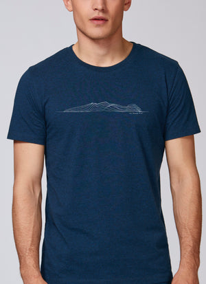 """The Sleeping Giant"" Mens- Create Your Own Tee"